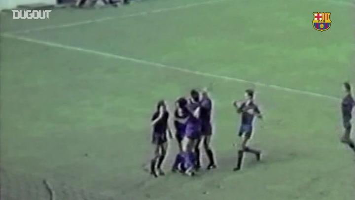 Debut Goals: Diego Maradona Vs Valencia