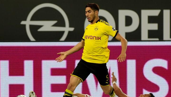 Las mejores jugadas de Achraf Hakimi con el Dortmund