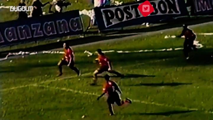Choronta Restrepo's Maradona-esque goal vs Atlético Nacional