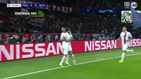 El PSG goleó 3 a 0 a un débil Real Madrid en el inicio de la Champions League