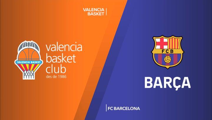 Euroliga: Valencia Basket - FC Barcelona
