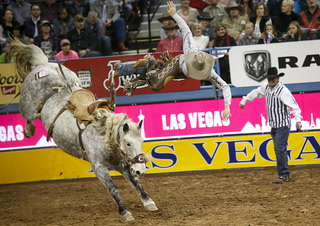 2017 National Finals Rodeo ninth go-round results