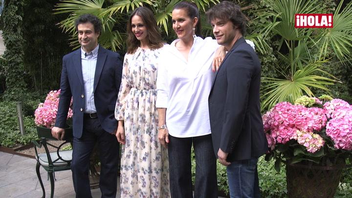 Pepe, Eva, Samantha y Jordi: la sesión de fotos más \'glamourosa\'