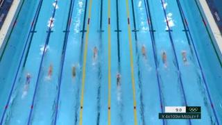Oro y récord para Gran Bretaña 4x100 m estilos mixto