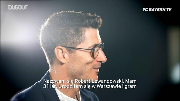 Robert Lewandowski opowiada o swojej wczesnej karierze