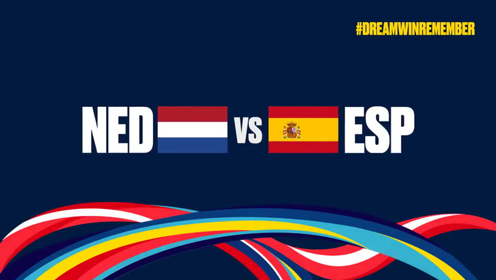 Resumen del Países Bajos-España