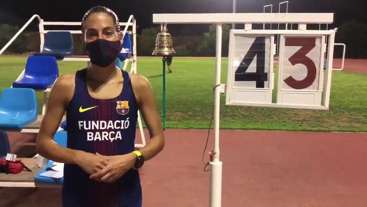 Marta Galimany bate la plusmarca española de la hora con 17.210 metros