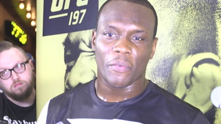 Ovince Saint Preux isn't feeling pressured about fighting Jones for a belt