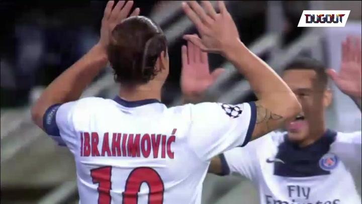 The Day Zlatan Scored Four Goals vs Anderlecht