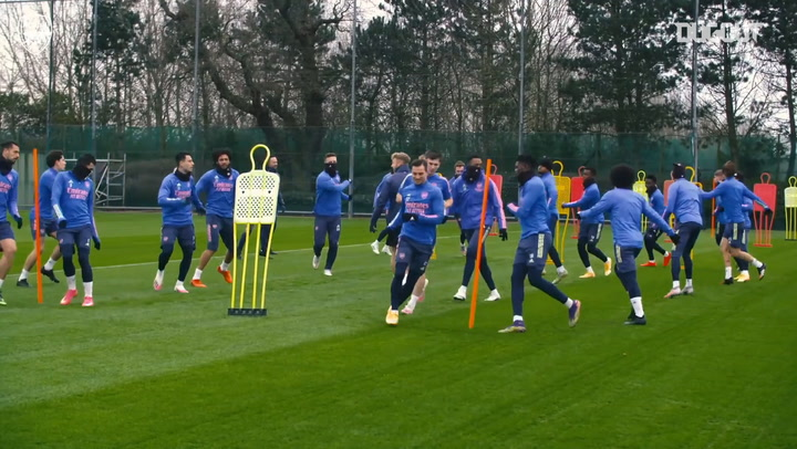 Behind the scenes as Arsenal prepare for FA Cup clash vs Newcastle