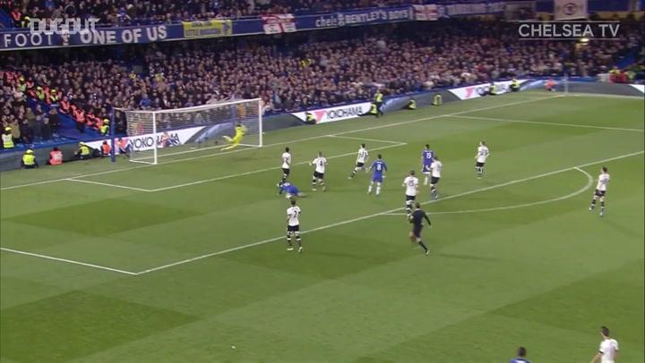 Golaços do Chelsea sobre o Tottenham em Stamford Bridge