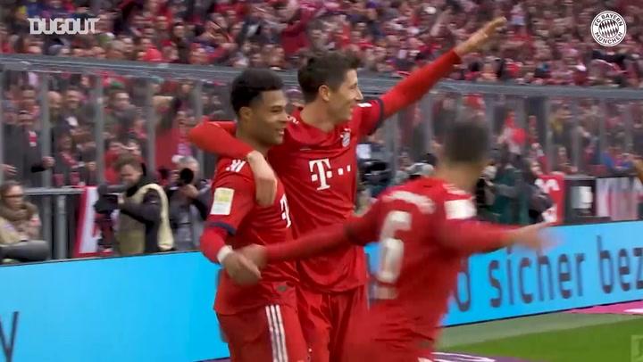 FC Bayern's greatest goals against Wolfsburg
