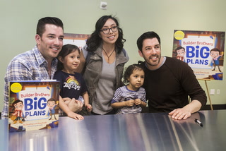 Property Brothers In Las Vegas to Promote Kids Book