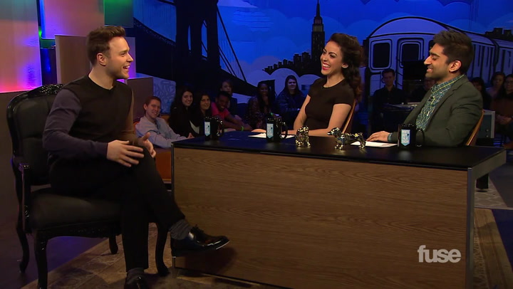Shows: White Guy Talk Show: Olly Murs (Cologne)