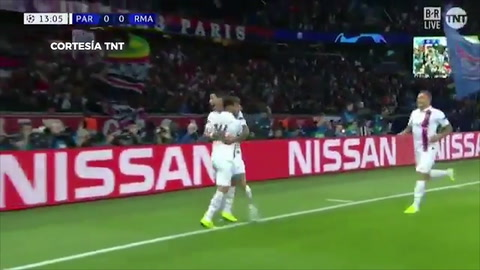PSG 2 - 0 Real Madrid