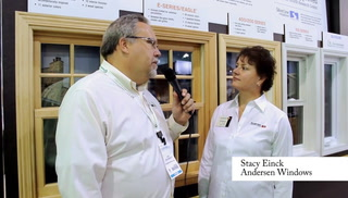 Greenbuild interview - Andersen Windows