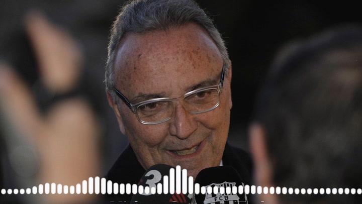 "Gaspart ""llora"" la muerte de Lorenzo Sanz"
