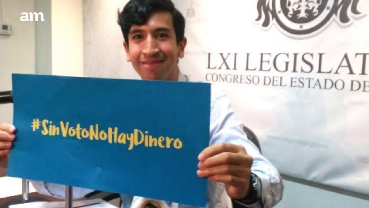 Presentan iniciativa #SinVotoNoHayDinero