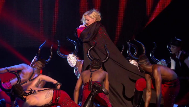 Madonna Took A Big Fall During Her BRIT Awards Performance