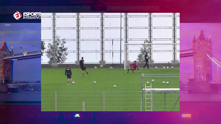 CR7 vuelve a entrenar donde se inició en el fútbol