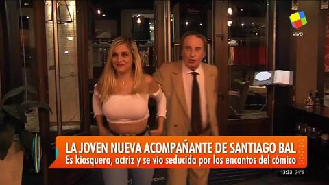 Sorprendieron a Santiago Bal con una nueva