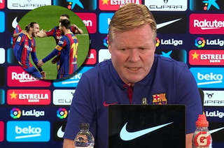 Koeman previo al penúltimo partido de LaLiga: se siente maltratado y manda a futbolista al Barça B
