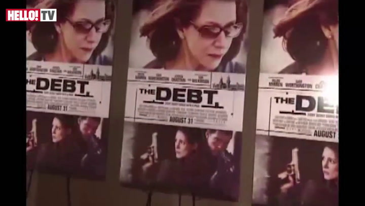 Helen Mirren premieres her thriller \'The Debt\' in New York