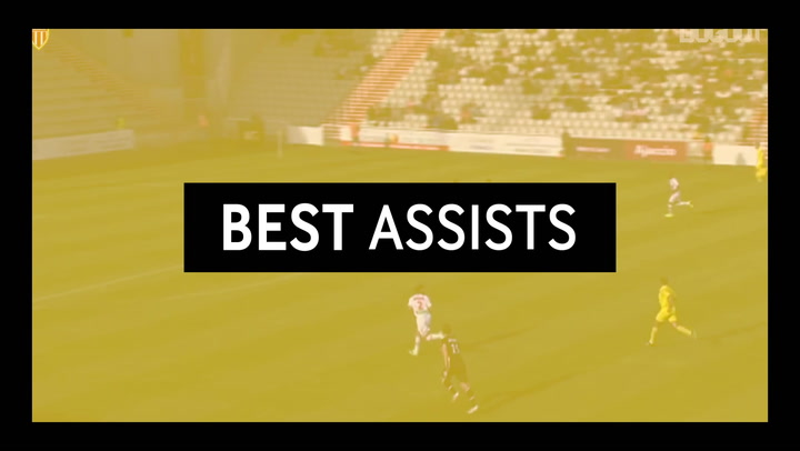 Best Assists: James Rodriguez For Dimitar Berbatov Vs AC Ajaccio