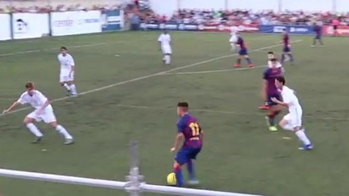 Así juega Zacarías Ghailán, futbolista del juvenil del Barça