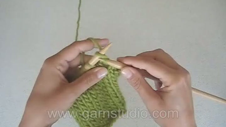 Hvordan strikke rette masker