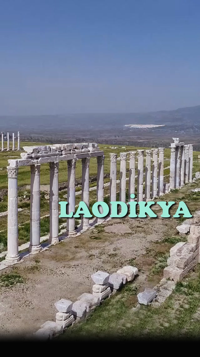 Anadolu'nun ikinci büyük antik kenti; Laodikya