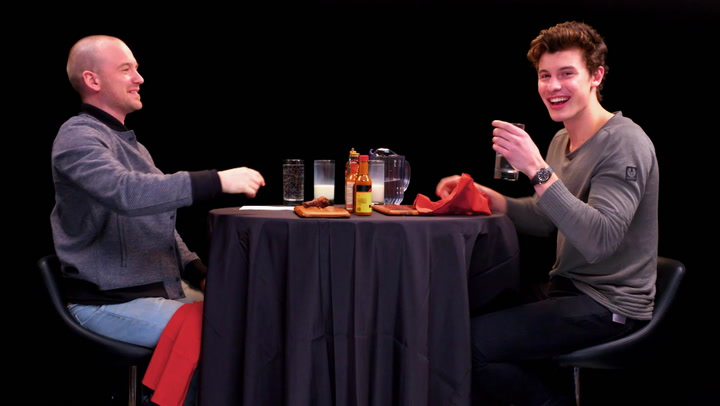 Hot Ones: Shawn Mendes