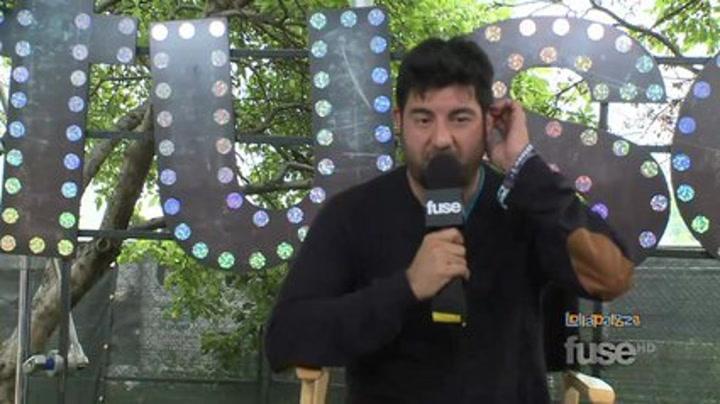 """Festivals: Deftones' Chino Moreno Describes The Band's """"Pretty Intense""""  Album - Lollapalooza 2011"""