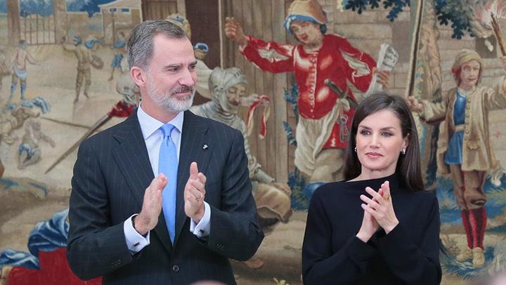 Los Reyes, con la élite científica española