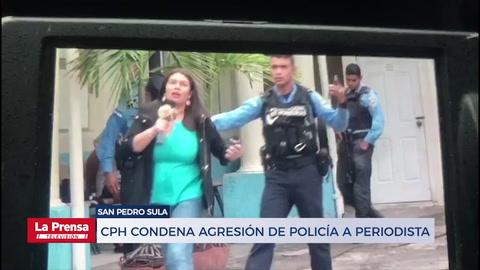 CPH condena agresión de policía a periodista