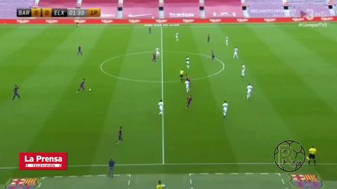 Griezmann abrió el marcador para el Barcelona en el Trofeo Joan Gamper