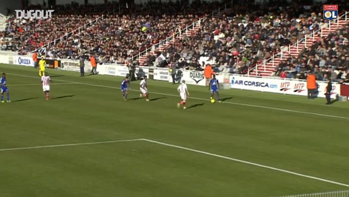 Alexandre Lacazette's great volley vs Ajaccio