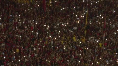 Flamengo rinde homenaje en Maracaná a las víctimas del incendio