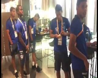 El ambiente que se vive en el hotel de la Sub-20 de Honduras en Polonia