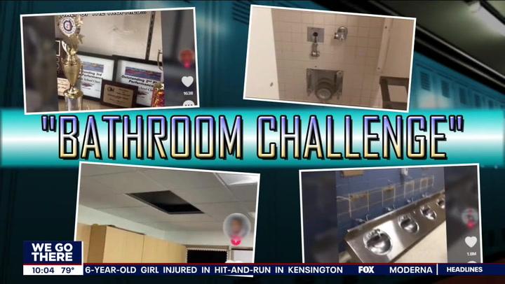 TikTok 'bathroom challenge' causes destruction in Pennsylvania schools