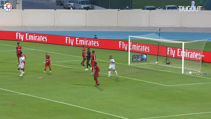Arabian Gulf League: Igor Coronado fires past Al-Fujairah SC