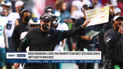 Is Doug Pederson the betting favorite to be the next Jets head coach?