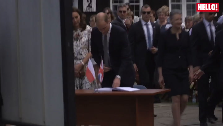 The Duke And Duchess Of Cambridge Continue Their Royal Tour Of Poland And Germany With A Sombre Visit To Stutthof Concentration Camp