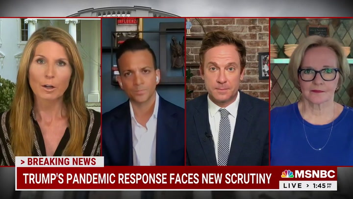 MSNBC's Gupta Calls for Commission on Trump's Pandemic 'Failures' to Protect Against Next Anti- Science President