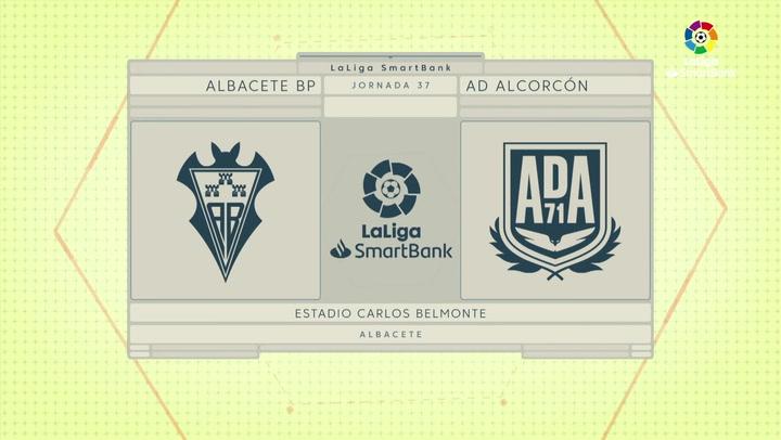 LaLiga Smartbank (Jornada 37): Albacete 1-1 Alcorcón