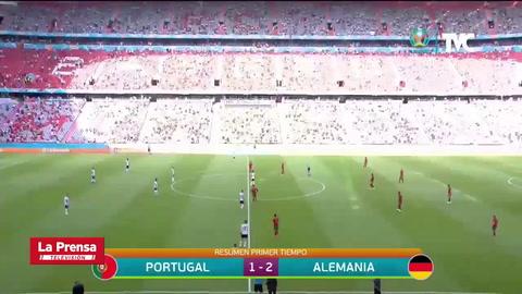 Portugal 2 - 4 Alemania (Eurocopa)