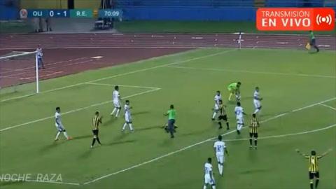 Gol de Rony Martínez al Olimpia (Copa Premier Centroamericana)