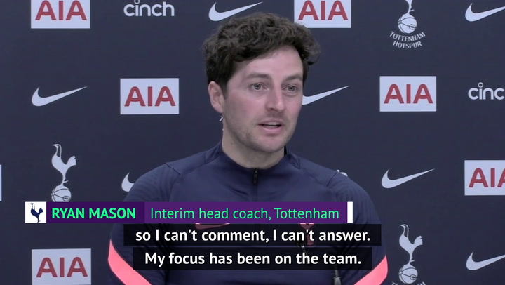 Super League questions for Mason interrupted by Spurs press officer