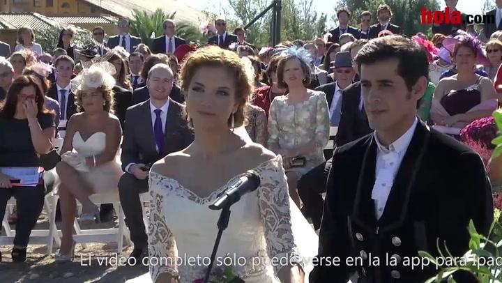 El vídeo del \'sí, quiero\' de Víctor Janeiro y Beatriz Trapote