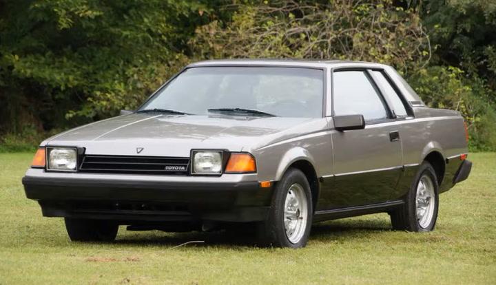 Así es el Toyota Celica GT de 1981 como el de Zico